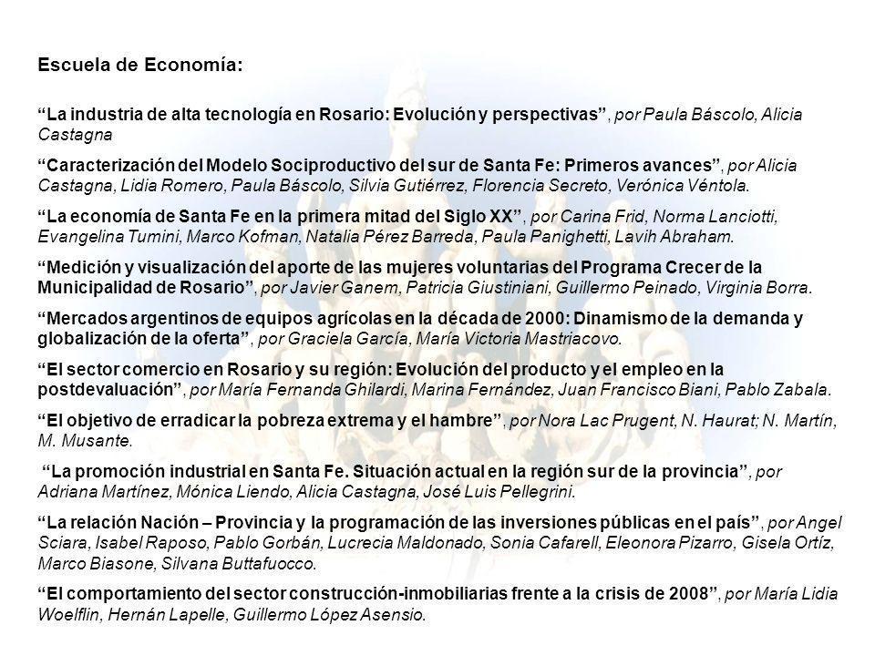 Escuela de Economía: La industria de alta tecnología en Rosario: Evolución y perspectivas, por Paula Báscolo, Alicia Castagna Caracterización del Mode