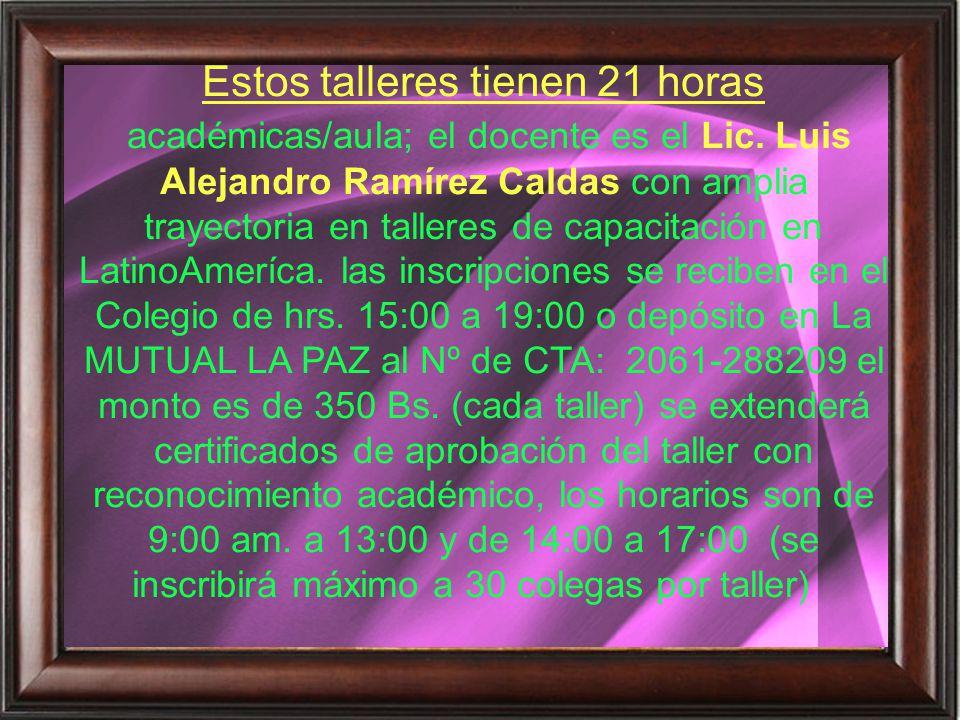 Lic.Lola H. Sánchez Almanza PRESIDENTA CPCIB C. Federico Suazo Nº 1885 Edif.