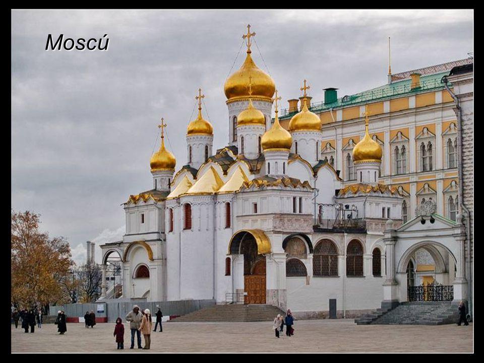 Iglesia Ortodoxa en Moscú