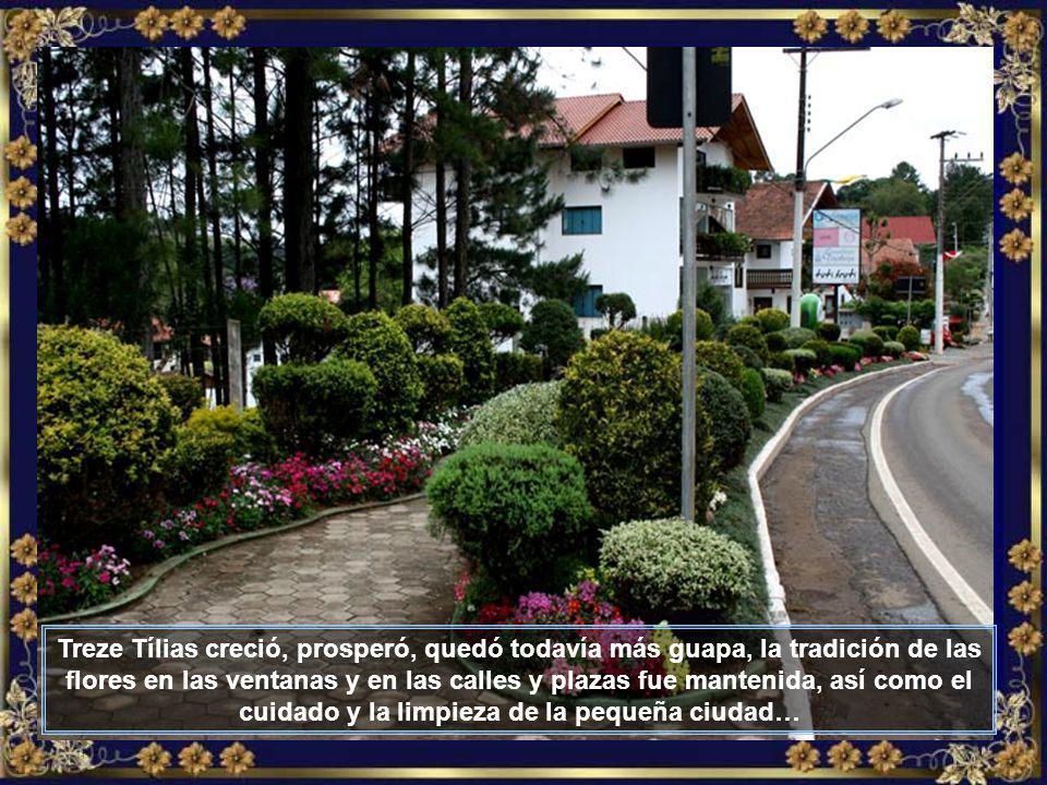 Tierra fértil, agua abundante, clima de montaña y mucho trabajo de aquellos bravos inmigrantes, dieron como resultado el progreso de la pequeña comunidad austriaca que se creaba en Brasil…