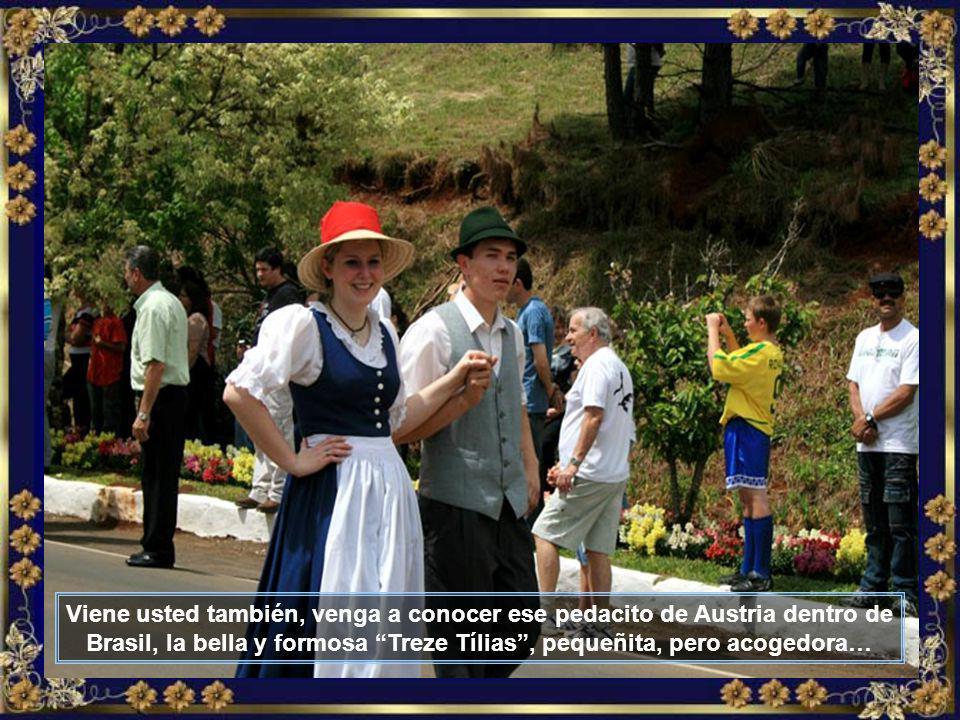 Nada más, nada menos, que una orquesta entera de Austria viene participar todos los años de la grande TIROLERFEST, ejecutando bellas valses vienenses y las campantes canciones tirolesas…