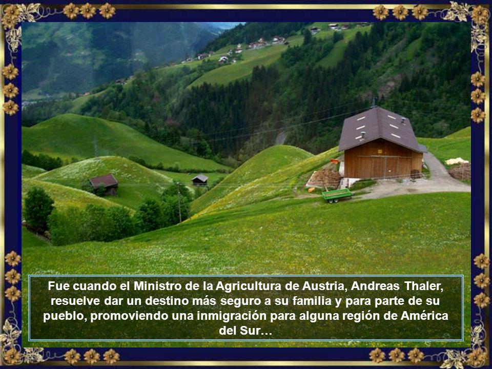 La región de Tirol fue duramente afectada por la crisis. Además de la pérdida de parte de su territorio para Italia, los campesinos perdían sus tierra