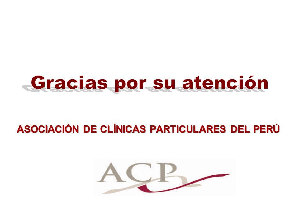ASOCIACIÓN DE CLÍNICAS PARTICULARES DEL PERÚ