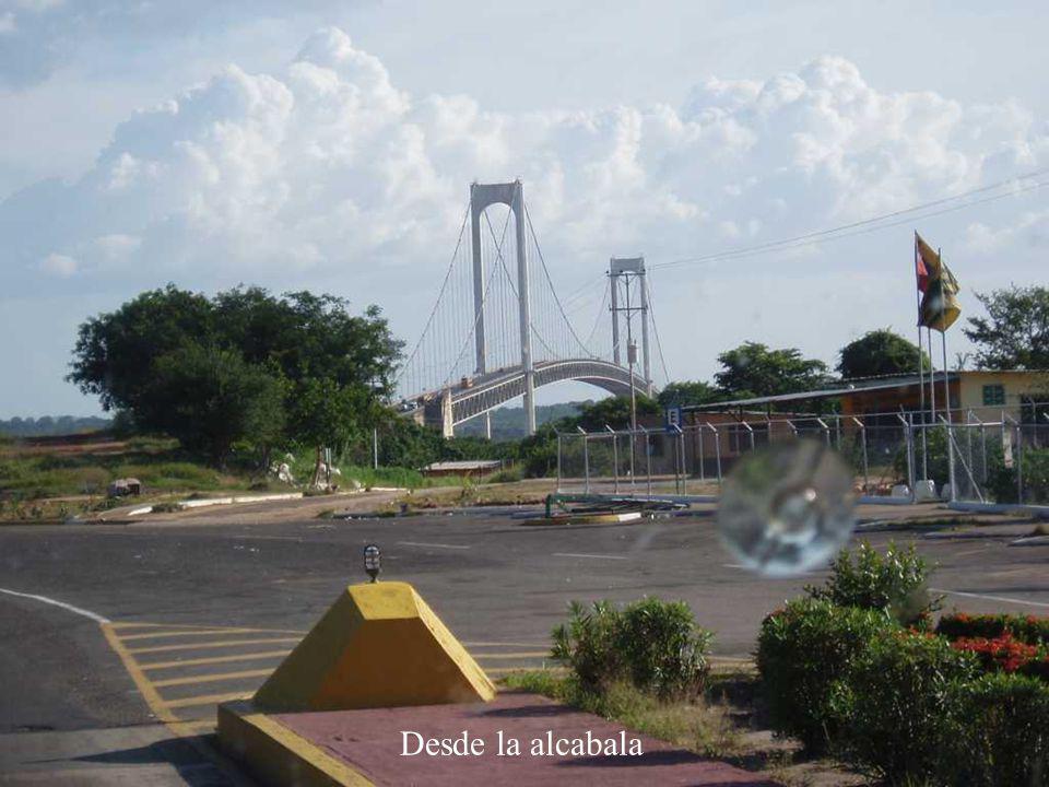 Acceso al Puente Angostura