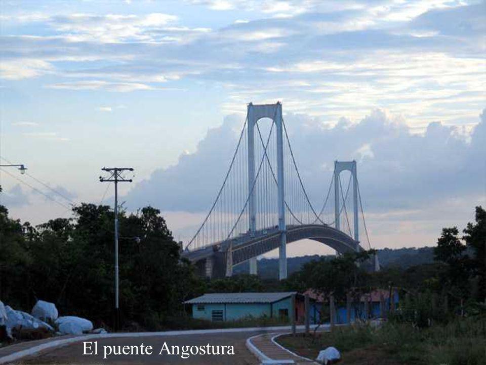 Entrada al Puente Angostura