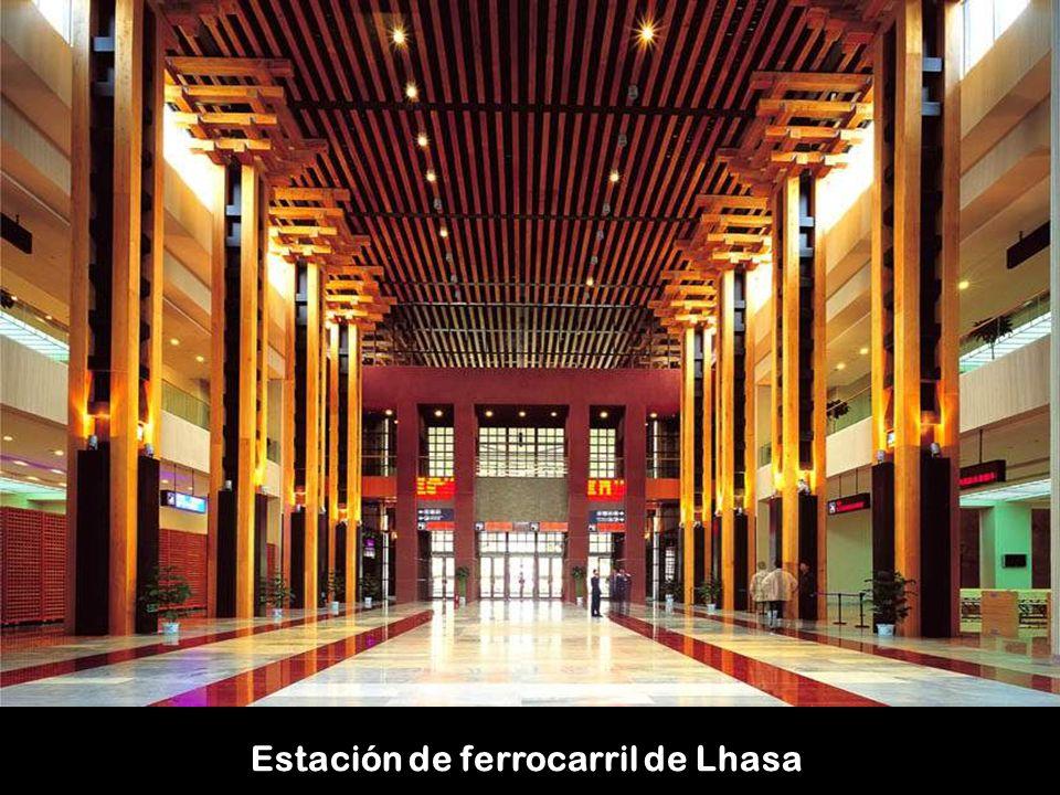 Estación de ferrocarril de Lhasa