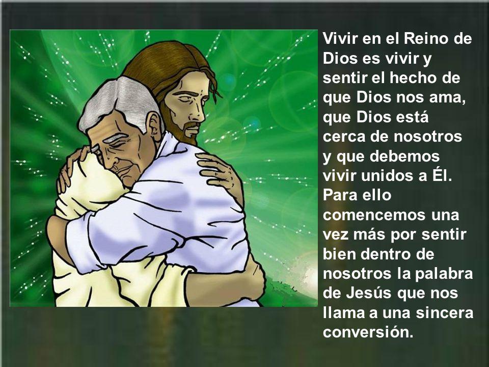 Con palabras parecidas había predicado san Juan Bautista. Jesús lo expresa de manera más concreta. Y el evangelio de san Mateo nos irá diciendo en pró