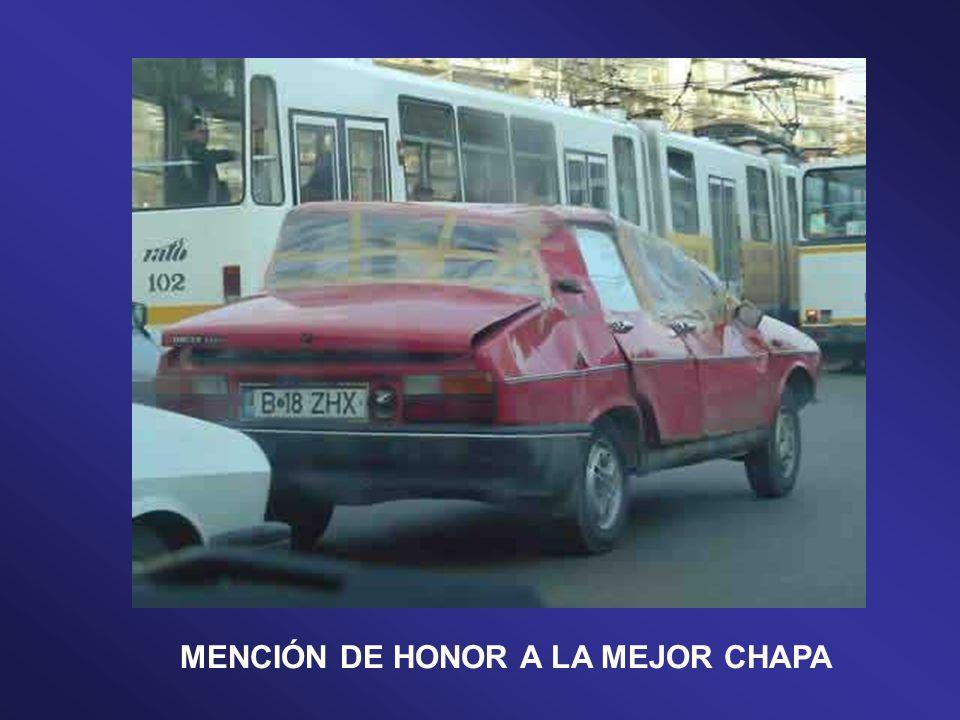 PREMIO ESPECIAL AL ABUELO DE TODOS LOS COCHES…