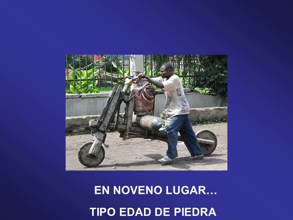 TUNEADO TIPO MAD MAX EN DÉCIMO LUGAR…