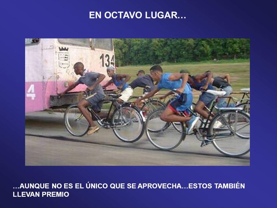 EL APROVECHADO OBSÉRVESE EL PAQUETE…¡¡¡PERO EL DE ÉL!!! EN NOVENO LUGAR…
