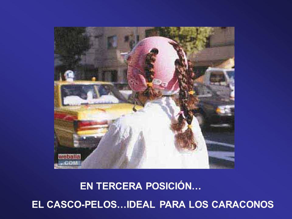 EN CUARTA POSICIÓN… ¡¡¡EL CASCO-DEL REVÉS!!! ¡¡¡ LO ÚLTIMO EN CASCOS.!!!