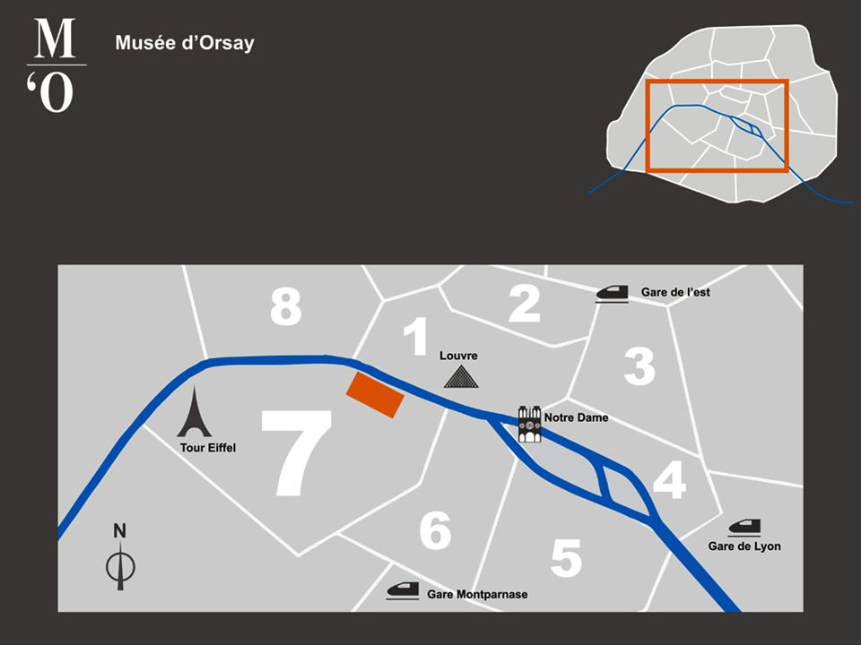 Las colecciones de Orsay comprenden 3.000 pinturas, 350 pasteles, 10.000 dibujos, 14.000 proyectos de arquitectura, 2.400 esculturas, 1.300 muebles y