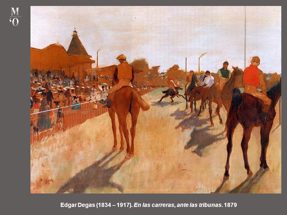 Edgar Degas (1834 – 1917). La clase de baile. 1875