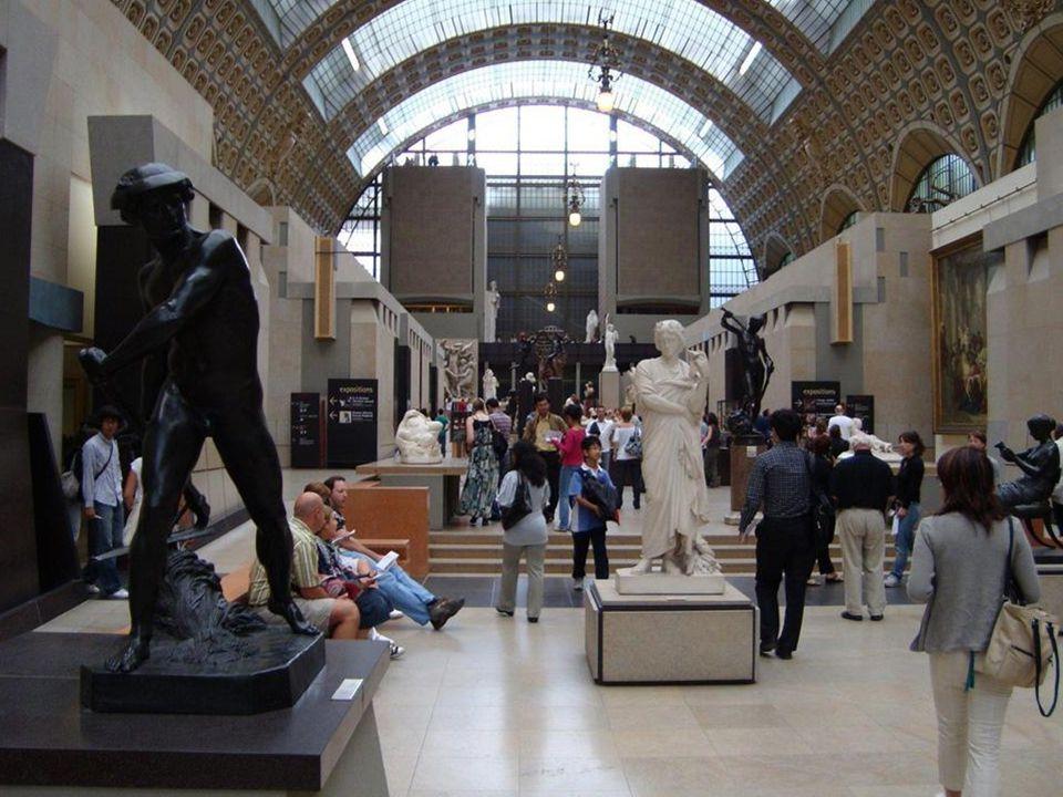 El 1 de diciembre de 1986 el Museo de Orsay abre sus puertas al público reuniendo un conjunto de más de mil esculturas. La mayoría de las obras están