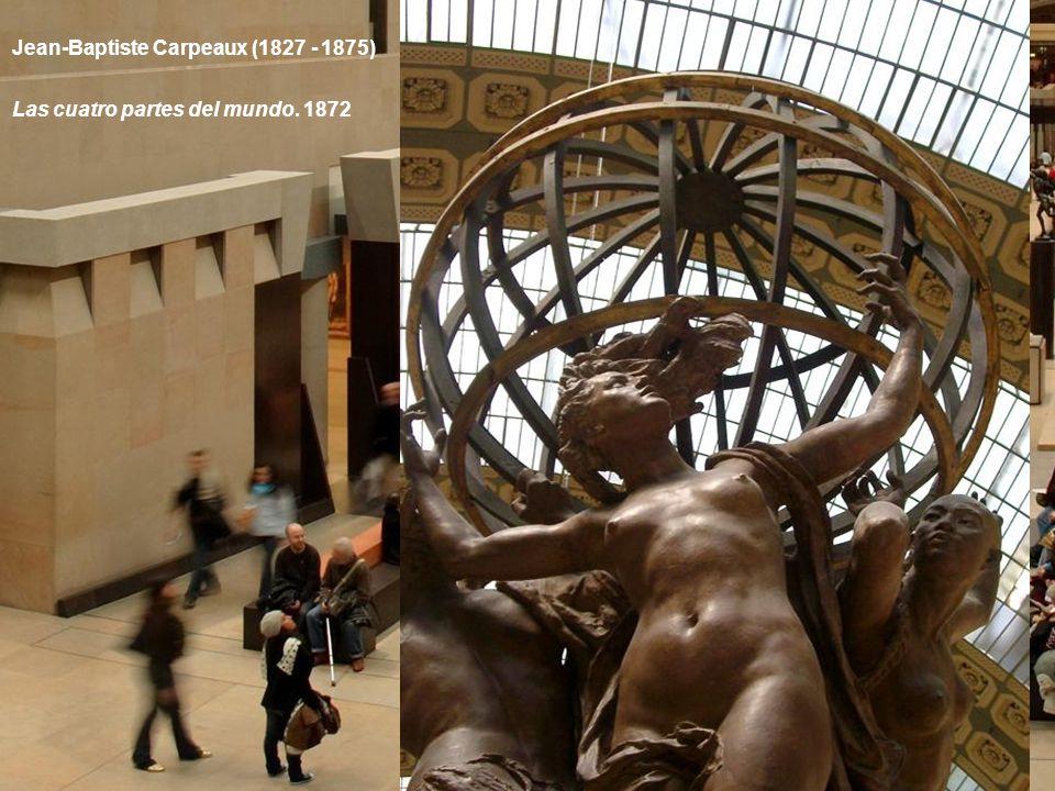 Jean-Baptiste Carpeaux (1827 - 1875) La danza. 1865-1869 Esta obra fue encargada por Garnier para decorar la fachada de la Ópera.