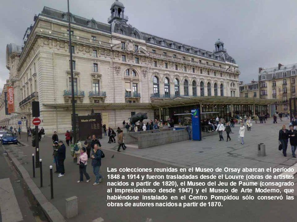 La transformación de la estación en museo fue la obra de los arquitectos del grupo ACT-Architecture (Rennaud Bardon, Pierre Lolboc y Jean-Paul Philipp
