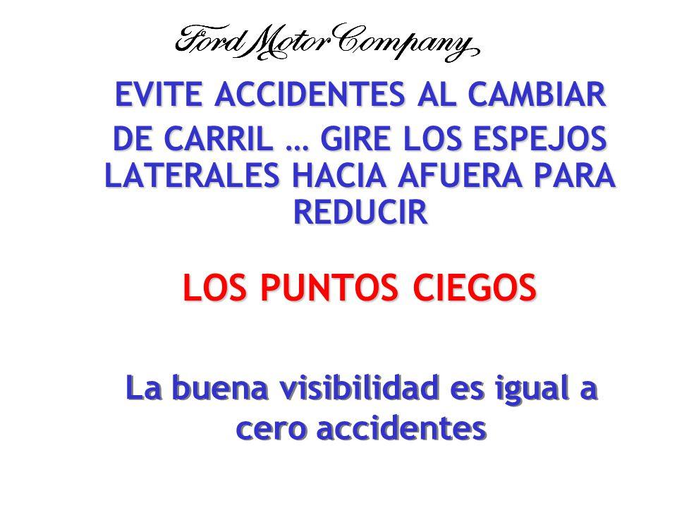 EN LOS ESTADOS UNIDOS HAY MÁS DE 600.000 ACCIDENTES POR CAMBIO DE CARRIL.