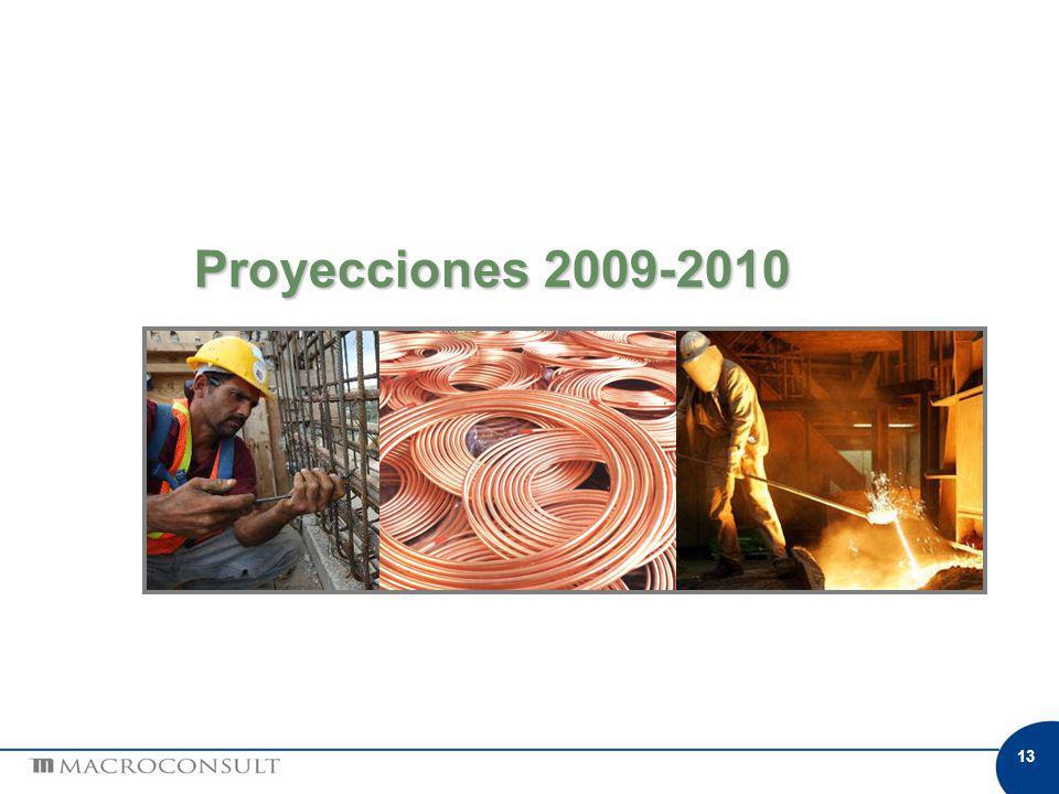13 Proyecciones 2009-2010