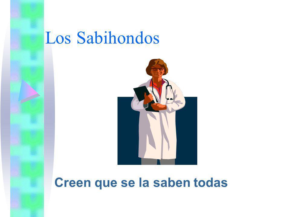 Los Sabihondos Creen que se la saben todas