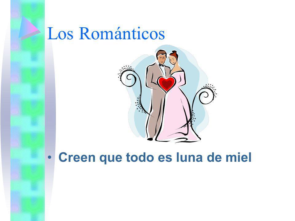 Los Románticos Creen que todo es luna de miel
