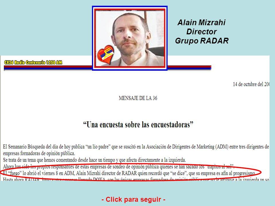 Dr. en Ciencias Políticas Luis Eduardo González (alias El Sordo) Director de CIFRA Difunde en : Telemundo 12 No es misterio para nadie. Ha confesado p