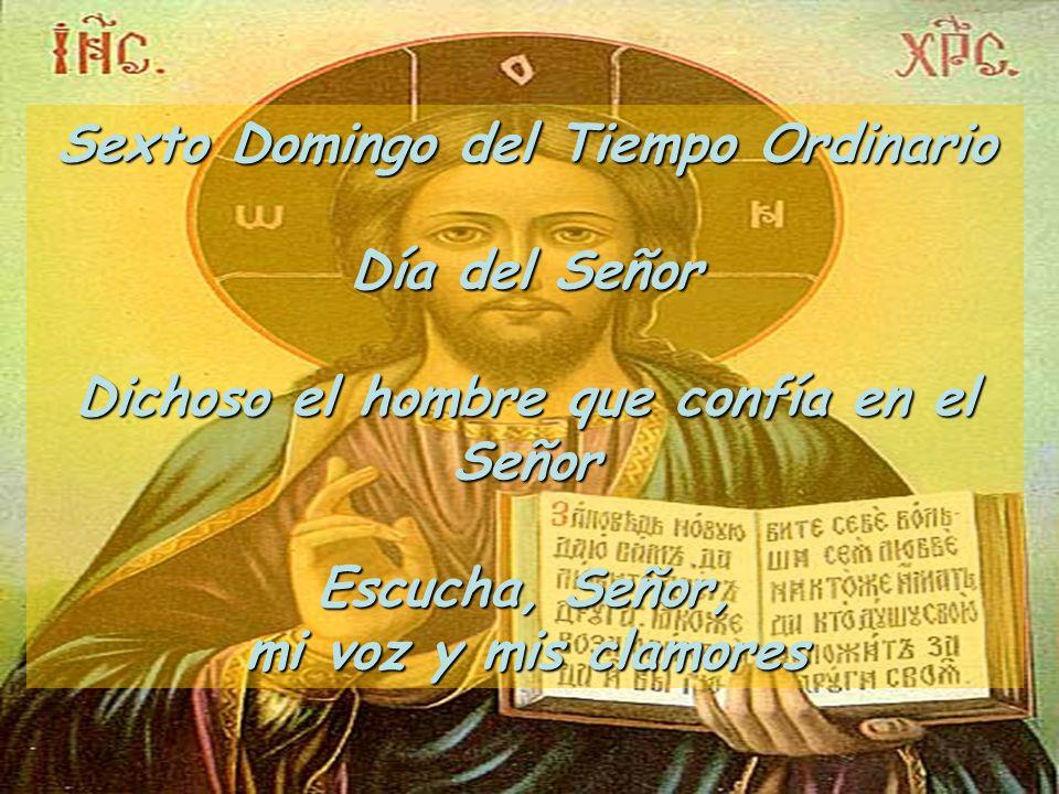 Lectura del Santo Evangelio según san Lucas (6: 17, 20-26) Gloria a ti, Señor.