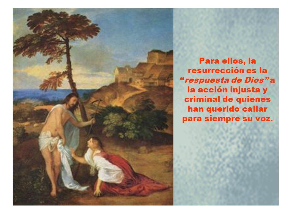 Vosotros lo matasteis, pero Dios lo resucitó. Esto es lo que predican con fe los discípulos de Jesús a los pocos días de su ejecución.