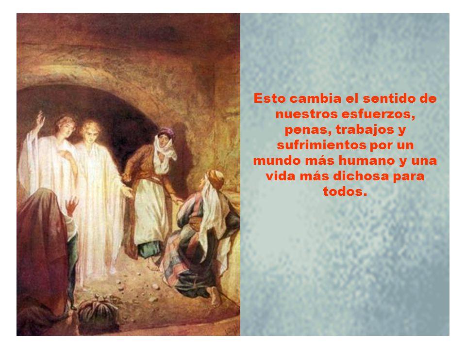 Una vida crucificada, pero motivada y vivida con el espíritu de Jesús, no terminará en fracaso sino en resurrección.