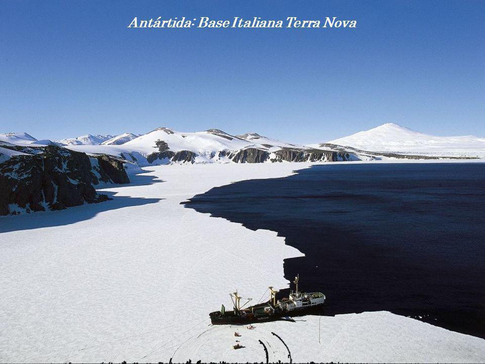 Antártida: Base Italiana Terra Nova