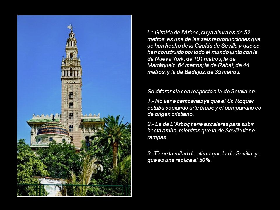 Con motivo de su centenario ha tenido una excelente restauración. En el año 2007 se le incorporó el Giraldillo, copia del que existe en Sevilla. De es