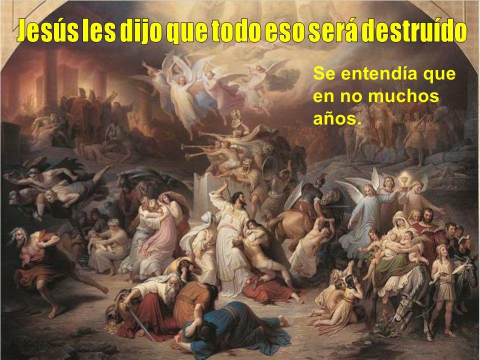 Eran los días antes de la muerte de Jesús. Él con los discípulos se retiraba a Betania por la noche y por el día volvía a Jerusalén. Un día, desde el