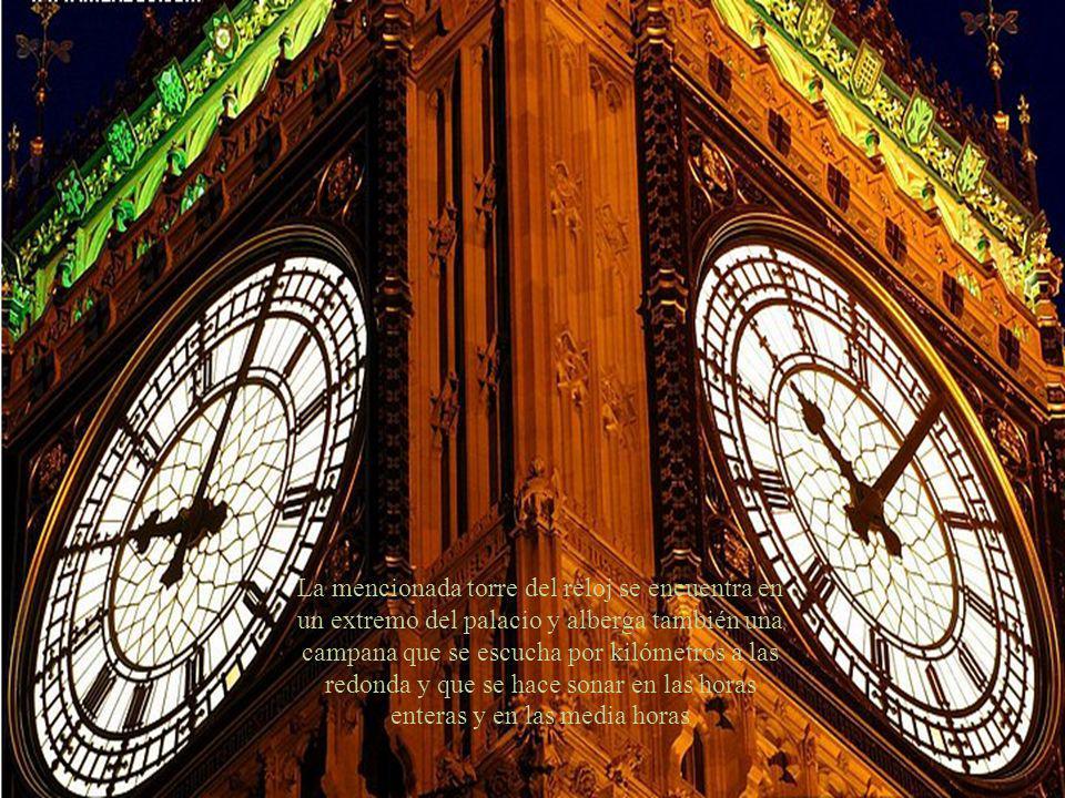 El Big Ben de Londres (gran Reloj) es una denominación habitual de la jerga inglesa que se le otorga al reloj inmerso dentro de la cúpula del Palacio