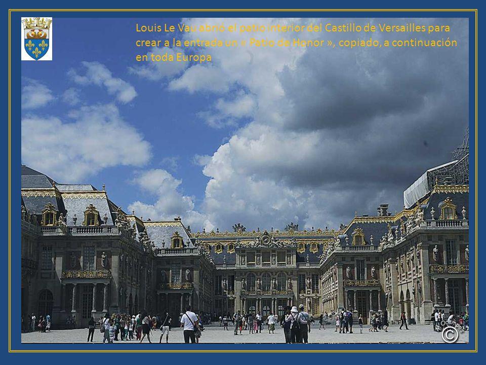 Fuente de Apolo, al fondo Versailles