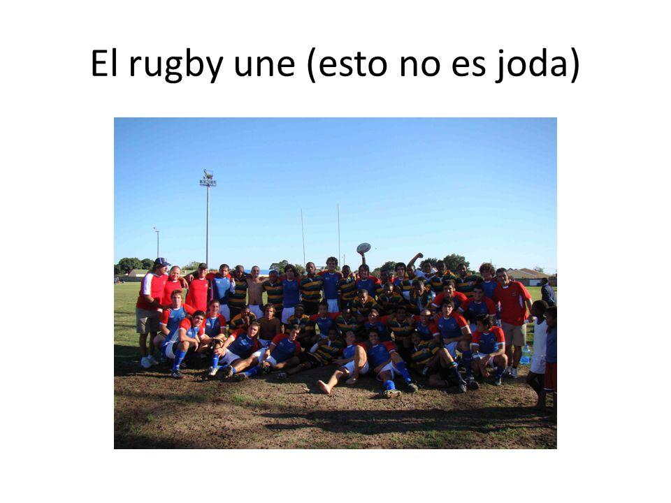 El rugby une (esto no es joda)