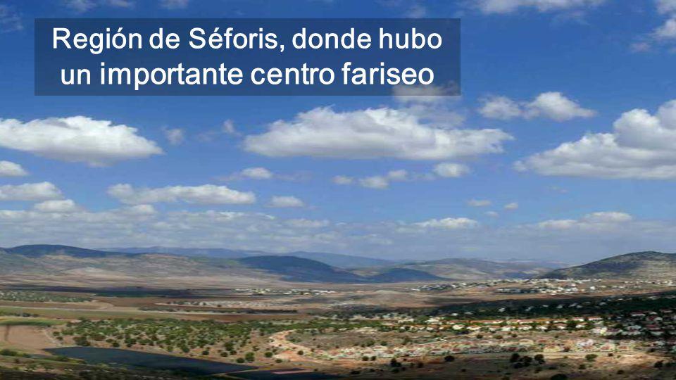 Región de Séforis, donde hubo un importante centro fariseo
