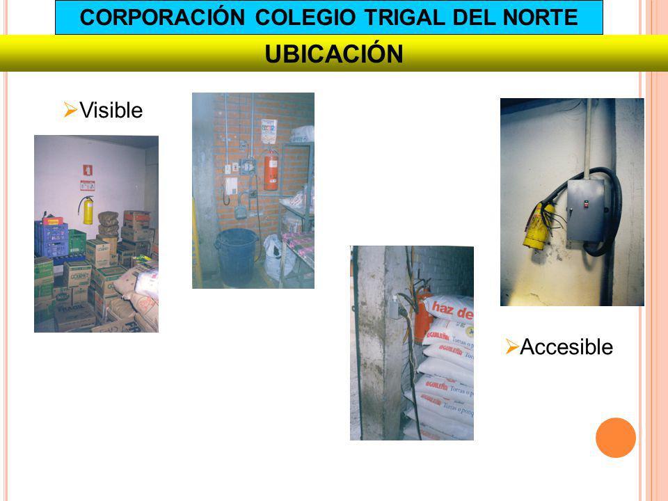 Visible UBICACIÓN Accesible CORPORACIÓN COLEGIO TRIGAL DEL NORTE