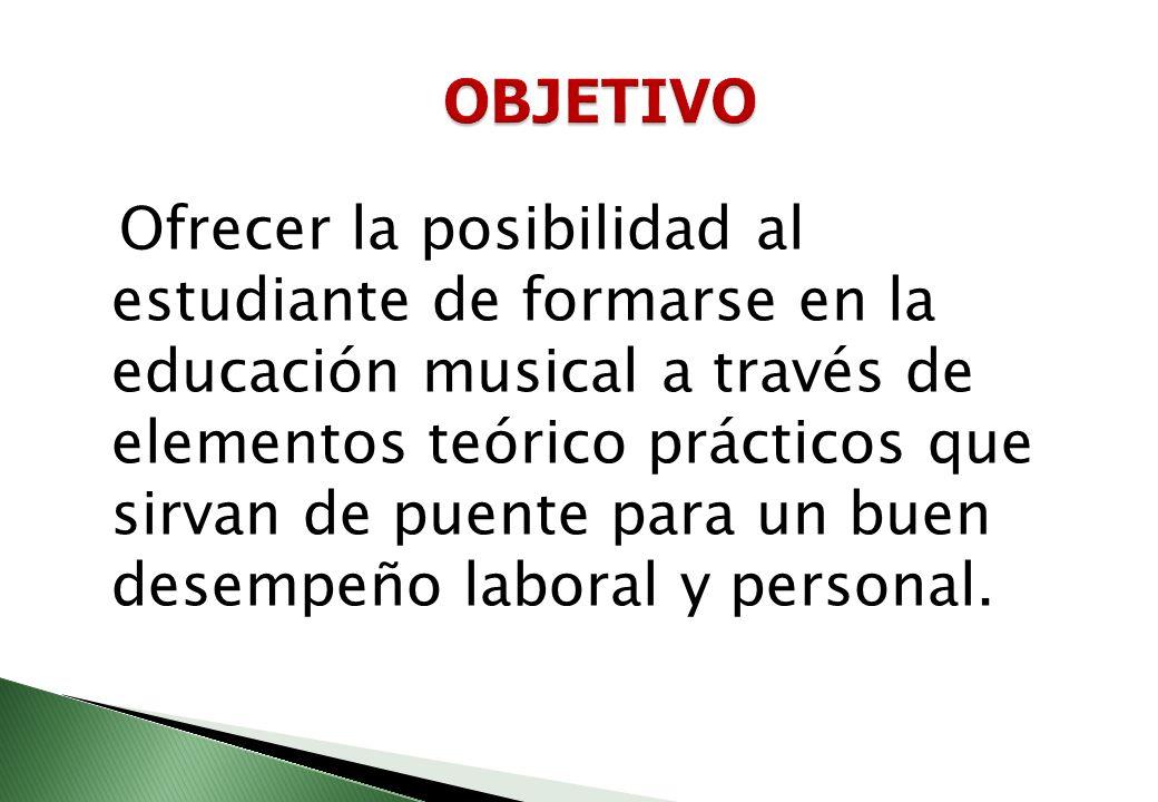 La música es en el Instituto Universitario una tradición, una expresión de nuestros talentos, un pilar fundamental para fortalecer nuestro proceso edu