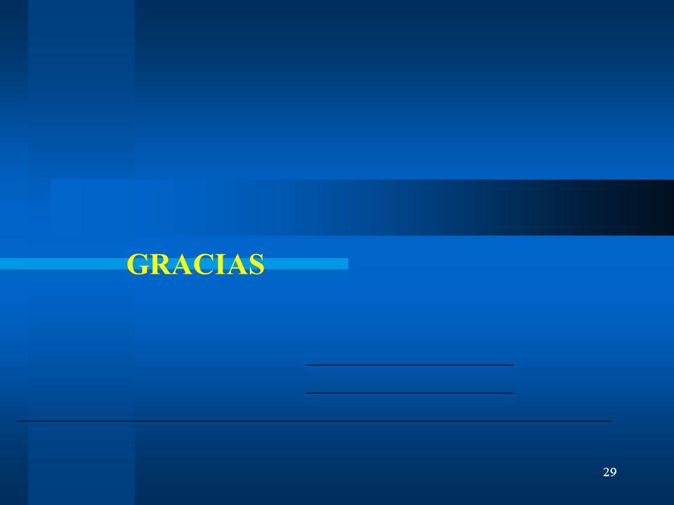 29 GRACIAS