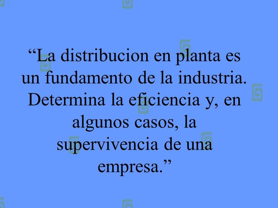 Una distribucion deficiente es una fuente de constantes pérdidas para la compañía que la instala. Una buena distribucion cuesta poco o nada más de ins