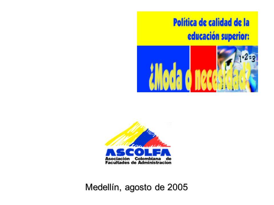 Medellín, agosto de 2005