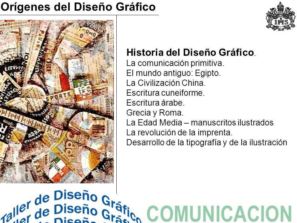 Historia del Diseño Gráfico.La comunicación primitiva.