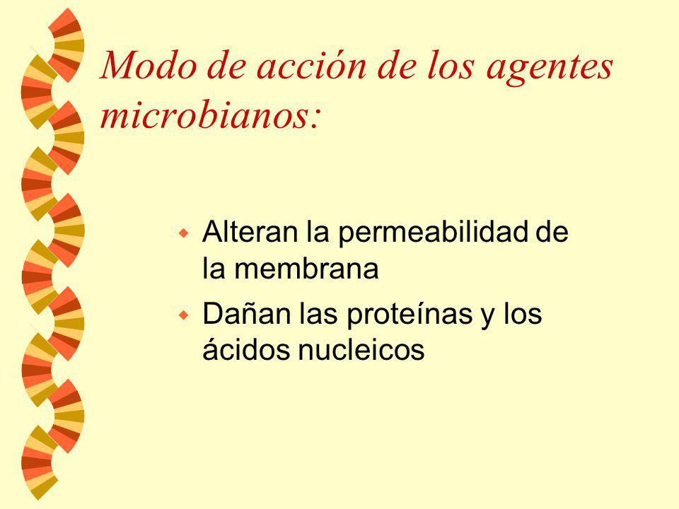El estado físico de el microorganismo