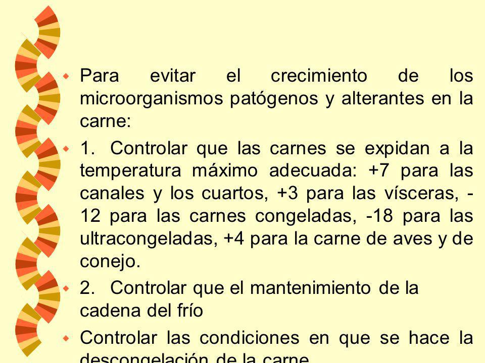 Bajas Temperaturas w En general, el metabolismo de las bacterias se inhibe a temperaturas por debajo de 0° C. w No matan a los microorganismos sino qu