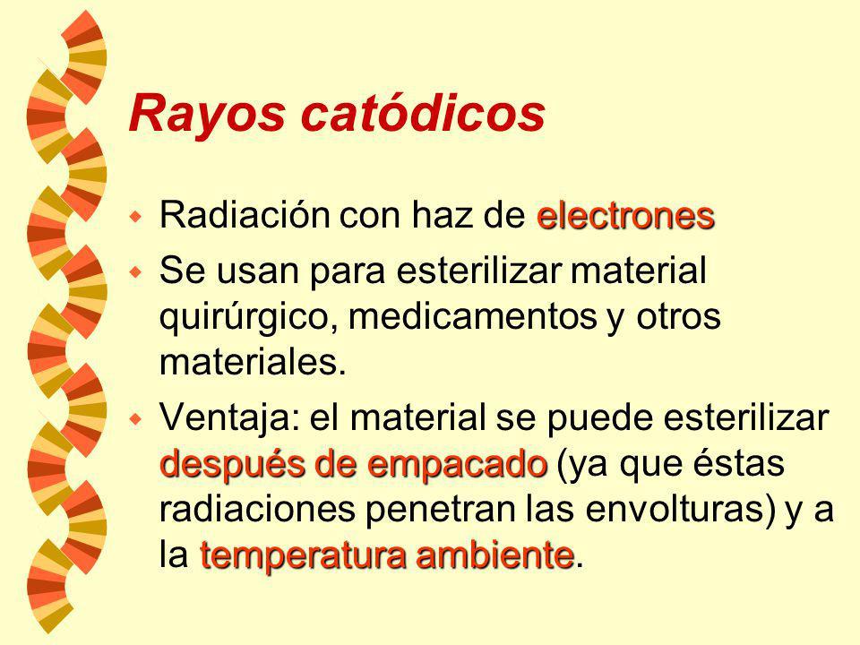 Rayos gamma mucha energía w Las radiaciones gamma tienen mucha energía y son emitidas por ciertos isótopos radiactivos como es el Co60. difíciles de c
