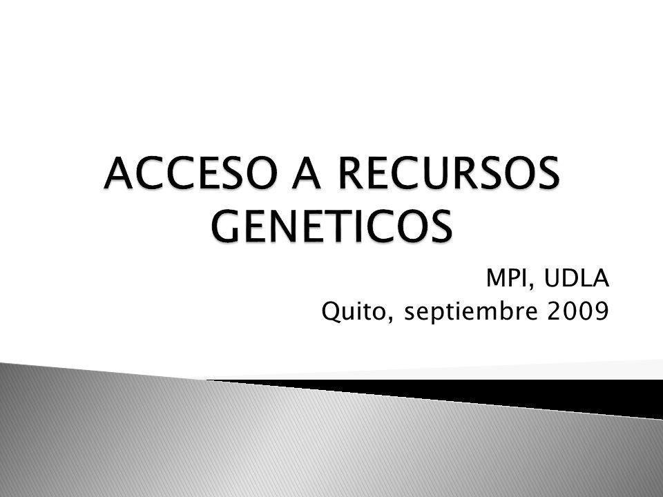 MPI, UDLA Quito, septiembre 2009