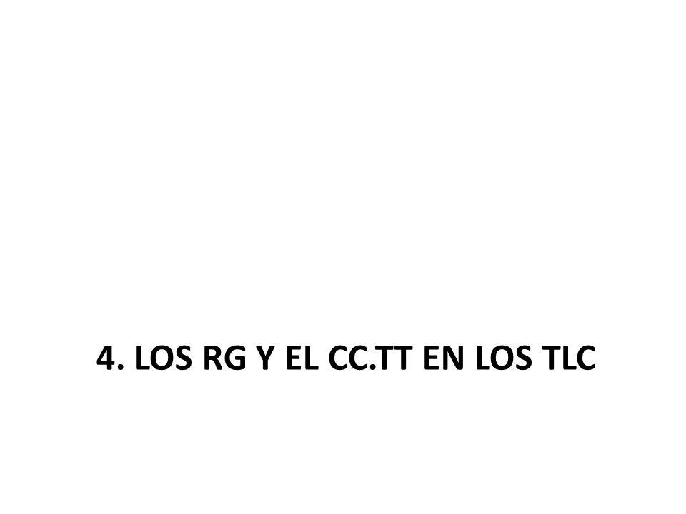 4. LOS RG Y EL CC.TT EN LOS TLC