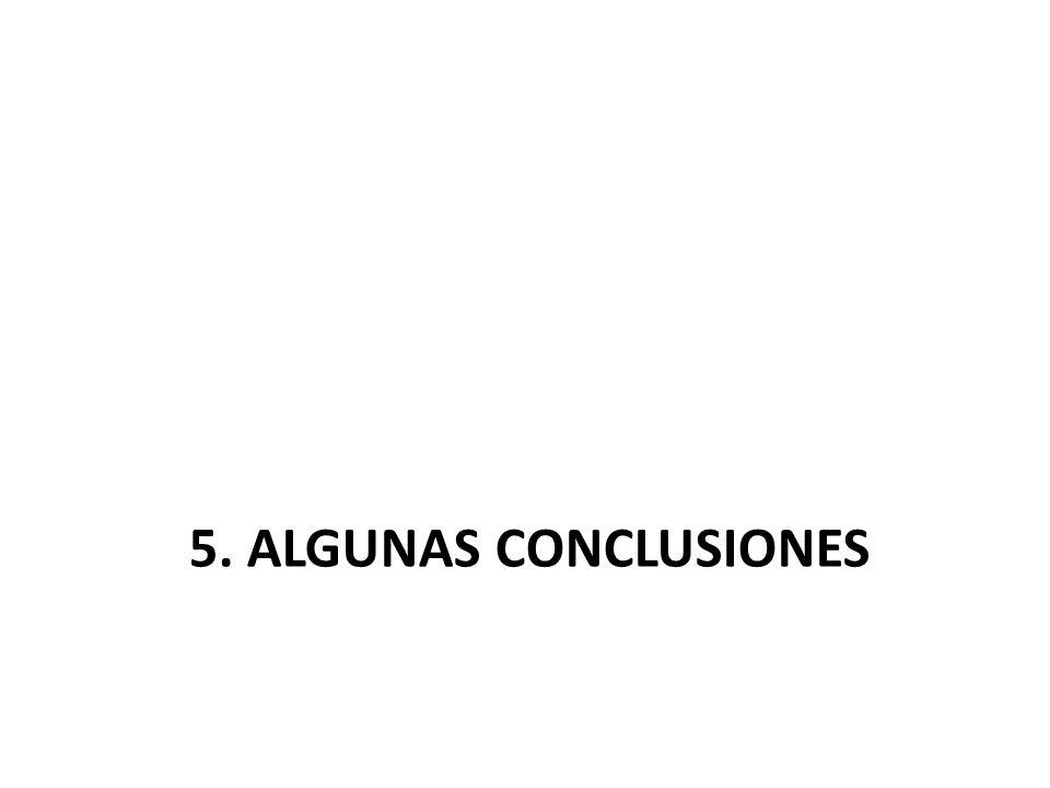 5. ALGUNAS CONCLUSIONES