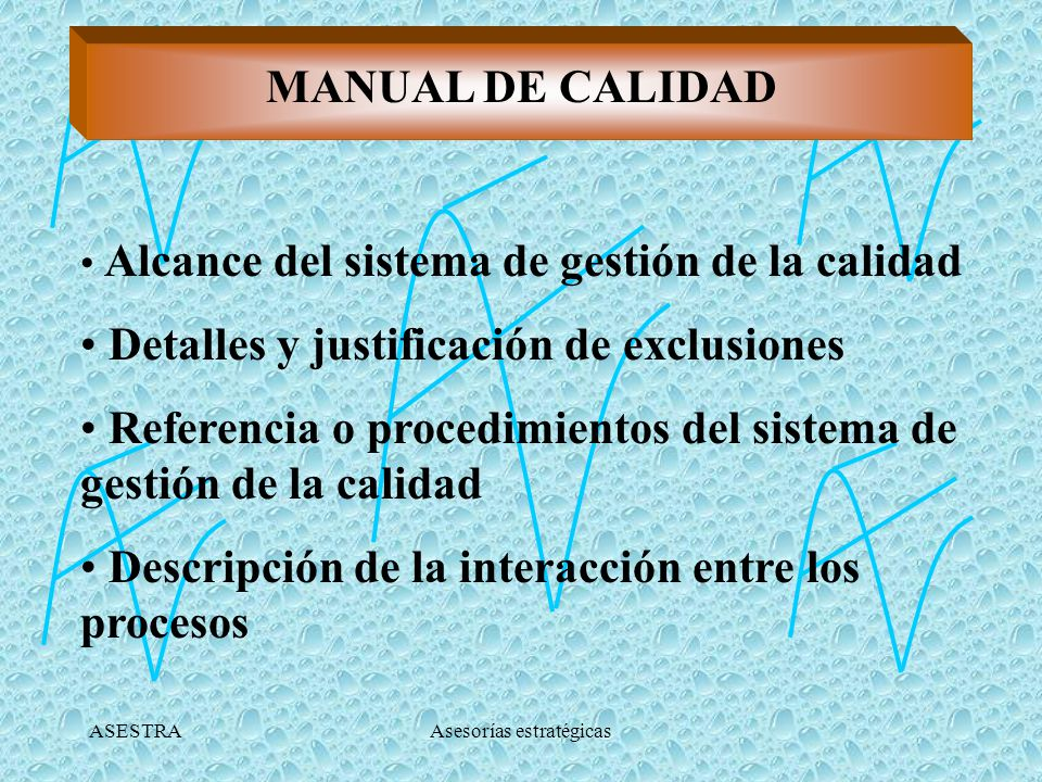 ASESTRAAsesorías estratégicas PROCEDIMIENTOS Conjunto de pasos que explican la forma de llevar a cabo una actividad.