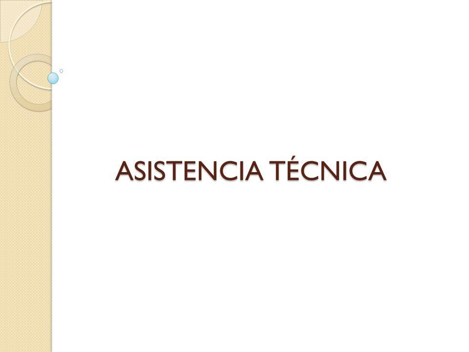 ASISTENCIA TÉCNICA
