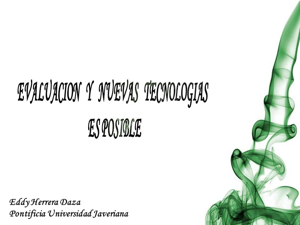 Eddy Herrera Daza Pontificia Universidad Javeriana